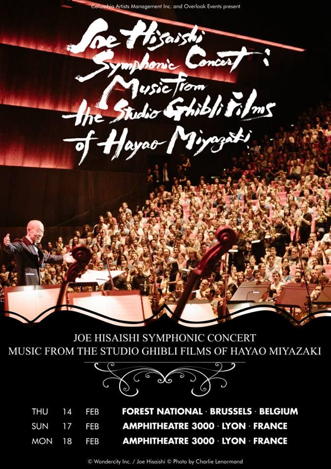 Joe Hisaishi torna in Europa