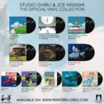 Collezione ufficiale dei vinili delle colonne sonore dei film dello Studio Ghibli